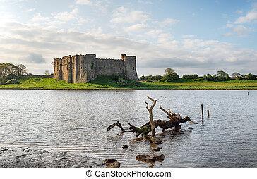 城堡, carew