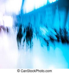 城市商務, 人群, 人們
