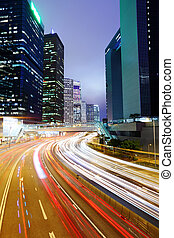城市的光, 未來, 汽車, 城市