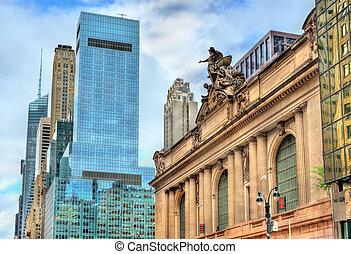城市, 中央, 終端, 約克, 盛大, 新, 曼哈頓