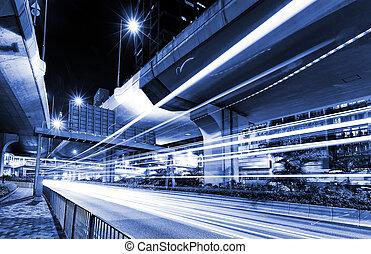 城市, 城市, 汽車光