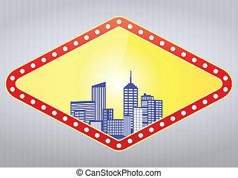 城市, 娛樂場