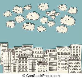 城市, 心不在焉地亂寫亂畫, 2
