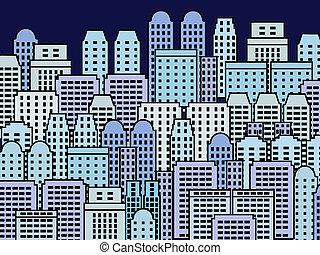 城市, 插圖