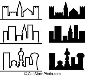城市, 演化