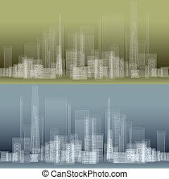 城市, 現代