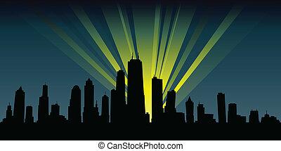城市, 聚光灯