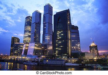 城市, 莫斯科, 摩天樓