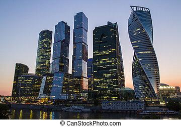 城市, 莫斯科, 牆紙