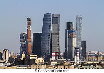 城市, 莫斯科, 結構, 城市