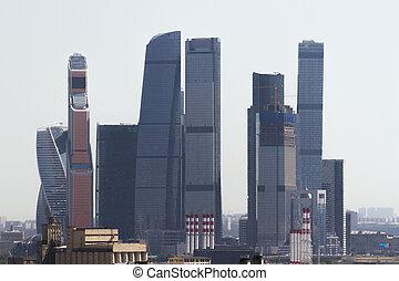 城市, 莫斯科, 背景, 創造性