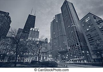 城市, chicago.