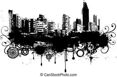 城市, grunge