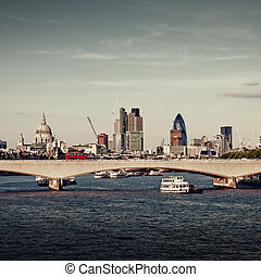 城市, london.