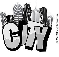 城市, typo