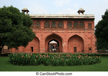 城砦, デリー, インド, 赤