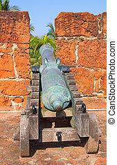 城砦, 中に, maputo, モザンビーク