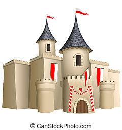 城, おとぎ話