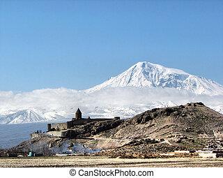 城, そして, 山