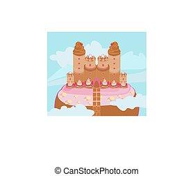 城, キャンデー