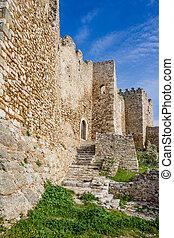城, ギリシャ, 古い, peloponnese, patras, 歴史的