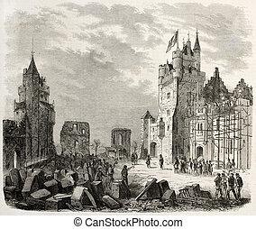 城, 修復, pierrefonds