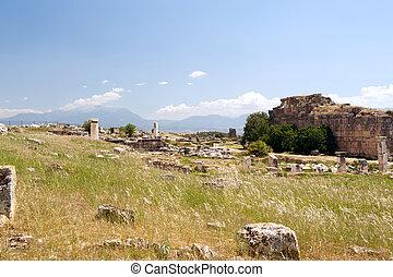 城, 古代, pamukkale