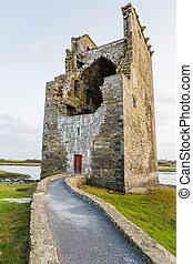 城, carrigafoyle, アイルランド