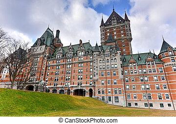 城 frontenac, -, ケベック 都市, カナダ