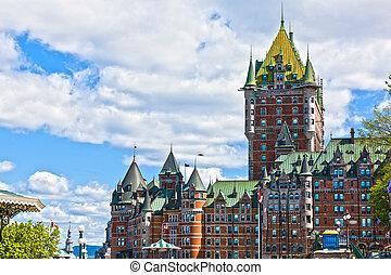 城 frontenac, ケベック 都市, カナダ