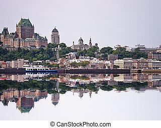 城 frontenac, ケベック 都市, カナダ, ホテル