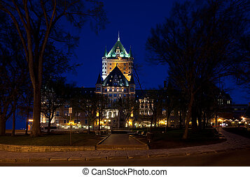 城 frontenac, 都市, ケベック