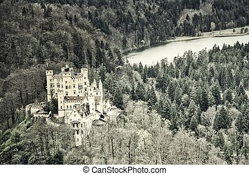 城, hohenschwangau