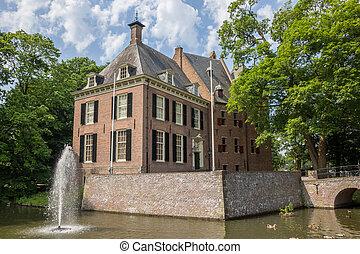 城, kinkelenburg, 中に, ∥, 歴史的, 中心, の, bemmel