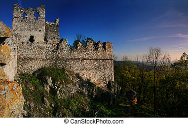 城, tematin, 台なし