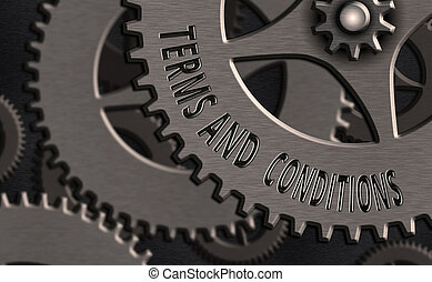 執筆, ビジネス, 概念, conditions., テキスト, 特定, 手, 提示, 写真, 適用されなさい, 満足がいく, contract., 用語, 規則