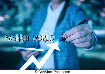 執筆, ビジネス, world., showcasing, 世界, スタイル, 衣類, メモ, ファッション, 提示, 写真, ∥巻き込む∥, appearance.