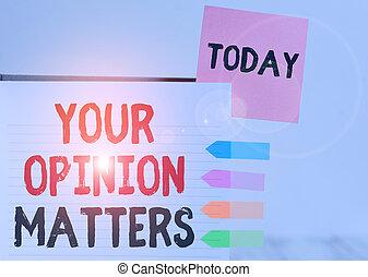 執筆, 懸命に, テキスト, 持ちなさい, 差し込まれた, 付せん, 改良しなさい, 貴重である, 発言権, 単語, 意見, 本, 入力, メモ, 矢, 概念, matters., ゆとり, ビジネス, 旗, バックグラウンド。, カバー, あなたの, 供給する