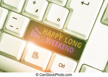 執筆, 白, 提示, 休暇, メモ, 写真, キーボード, showcasing, pc, ビジネス, weekend., ペーパー, 長い間, 希望, 誰か, 幸せ, バックグラウンド。, の上, 休日の旅行
