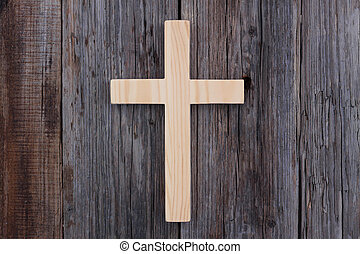 基督教徒, 產生雜種, 老, 木頭, 木制, 背景, 基督教