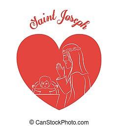 基督教, 矢量, illustration., 設計