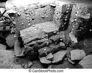堀りなさい, 考古学的