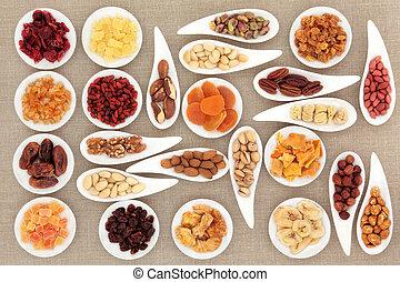 堅果, 水果, 取樣器