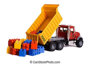 堆存处卡车, 玩具