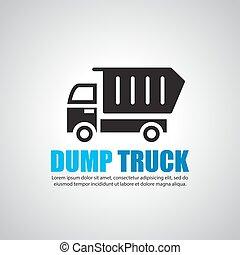 堆放處, 符號, 卡車