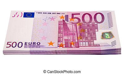 堆, 從, 歐元