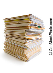 堆, 文件
