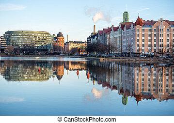 堤防, ヘルシンキ