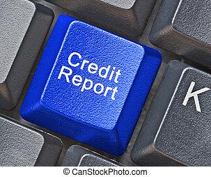 報告, 信用, 鑰匙