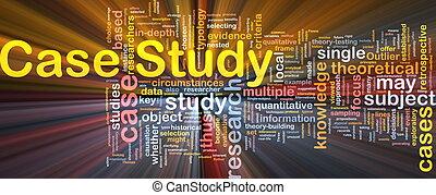 場合, 勉強しなさい, 概念, 白熱, 背景